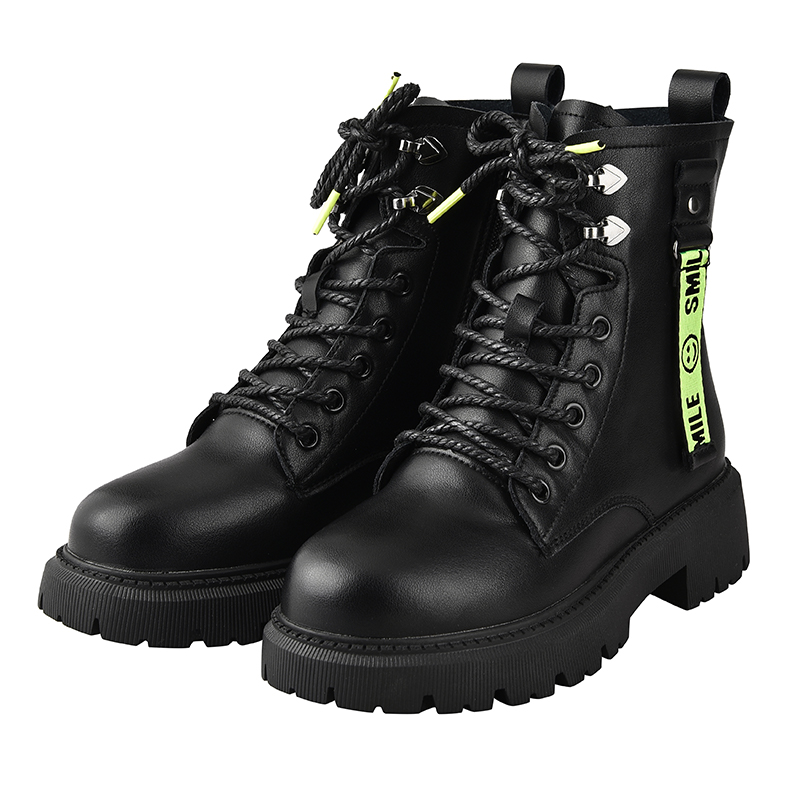 Women Ladies Lace Up Ankle Boots Women Chunky Platform Goth Punk Grunge Shoes US