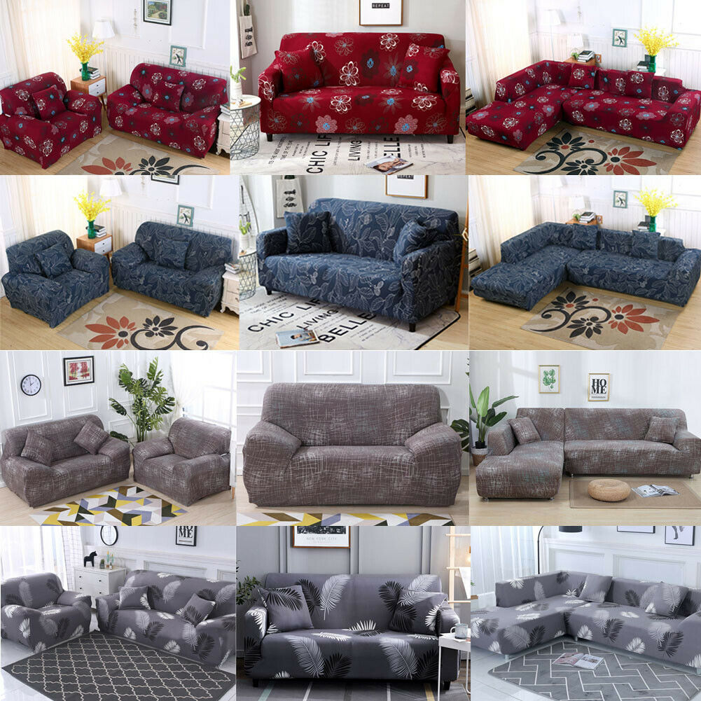 printed slipcover sofa covers spandex stretch couch cover furniture protector us