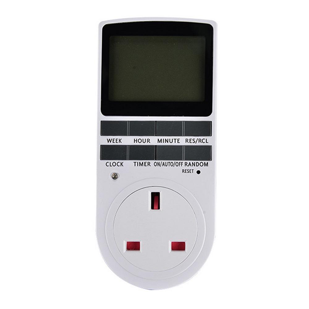 Новый электронный цифровой таймер выключатель с вилкой Стандарта