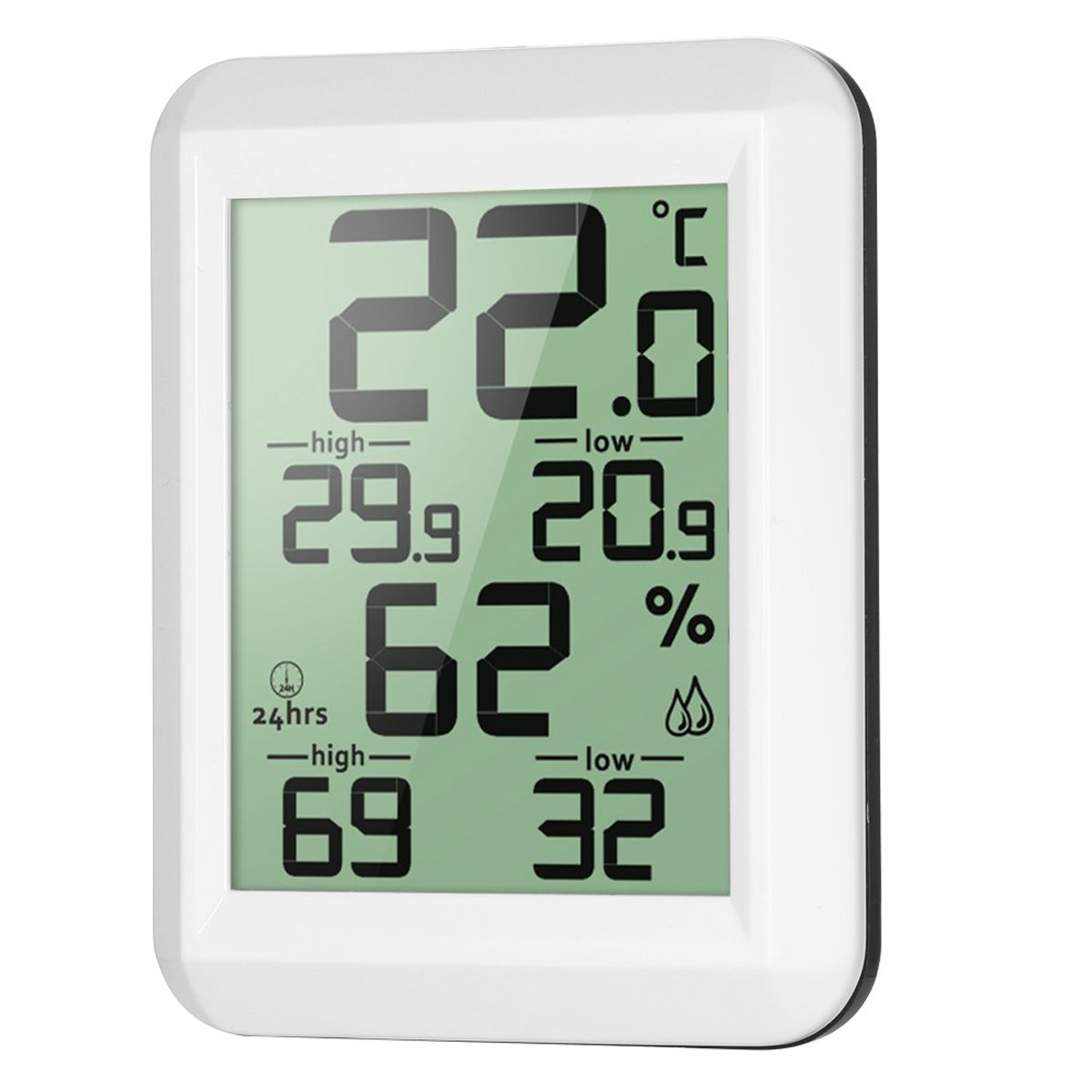 Digital Lcd Indoor Home Thermometer Hygrometer Humidity