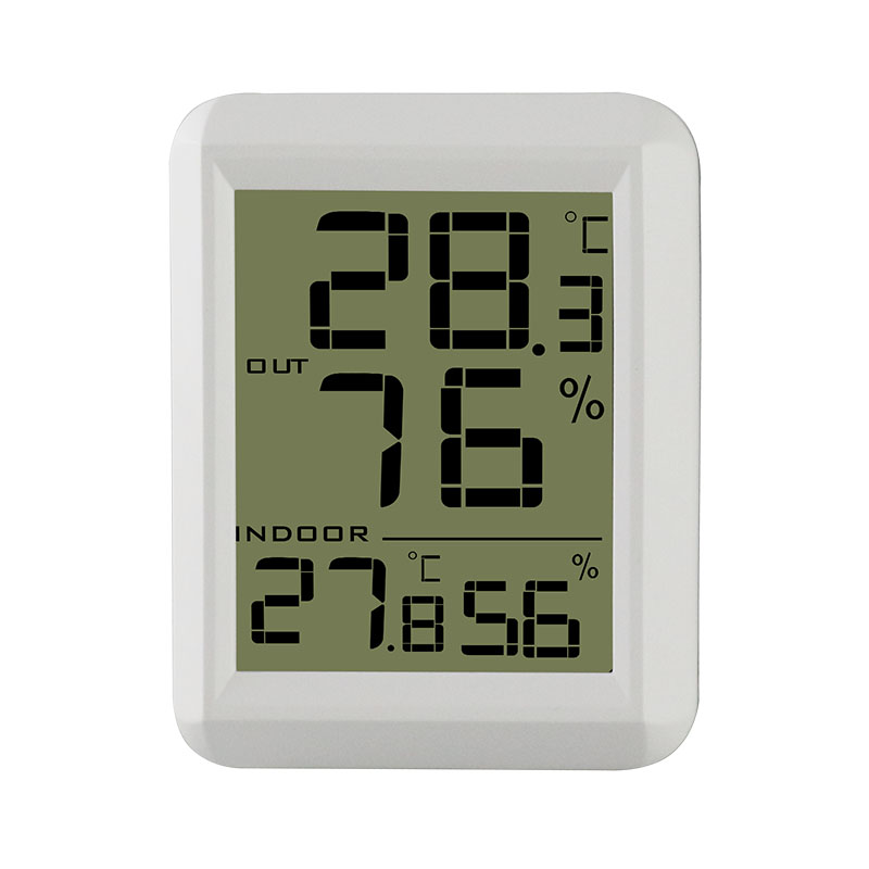 Mini Digital Hygrometer Indoor Outdoor Thermometer