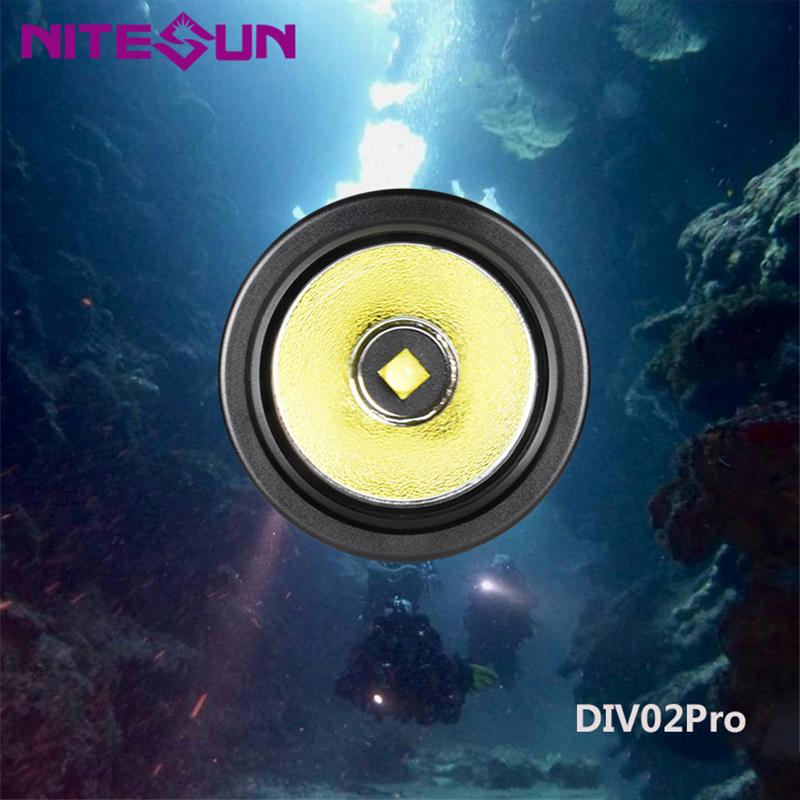 DIV02-pro-Immersione-Torcia-Riflettore-Riverbero-Torcia-Lega-di-Alluminio miniatura 6