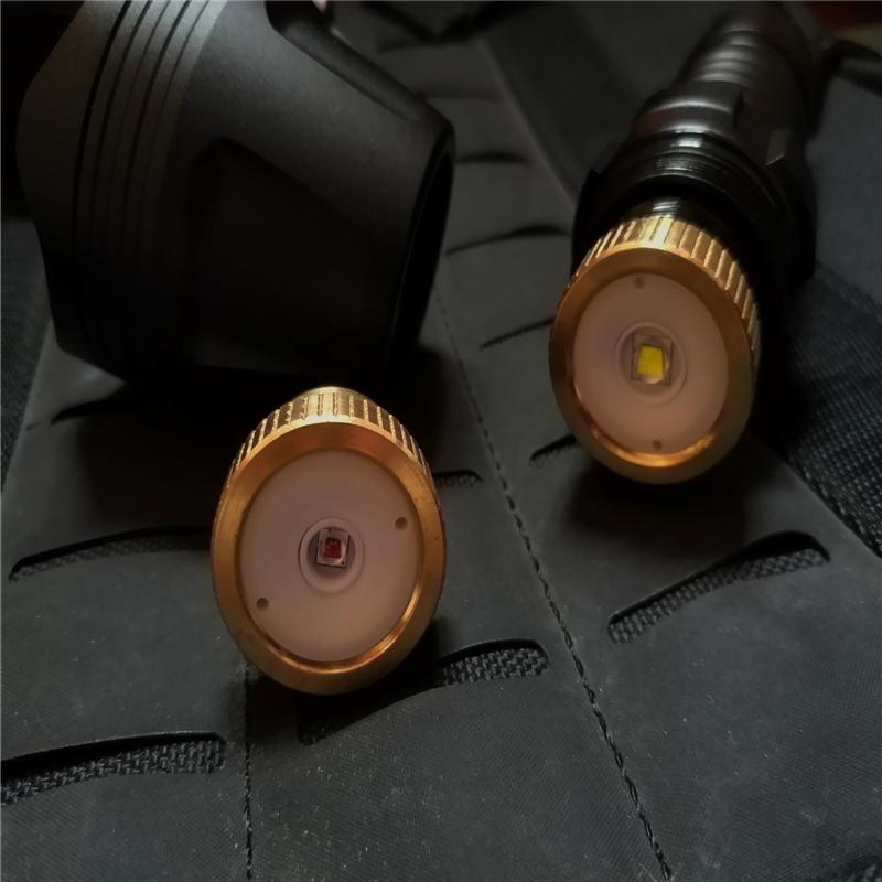 Outdoor-Zoom-Caccia-Torcia-Impermeabile-a-lungo-Raggio-Alluminio-Caccia miniatura 6