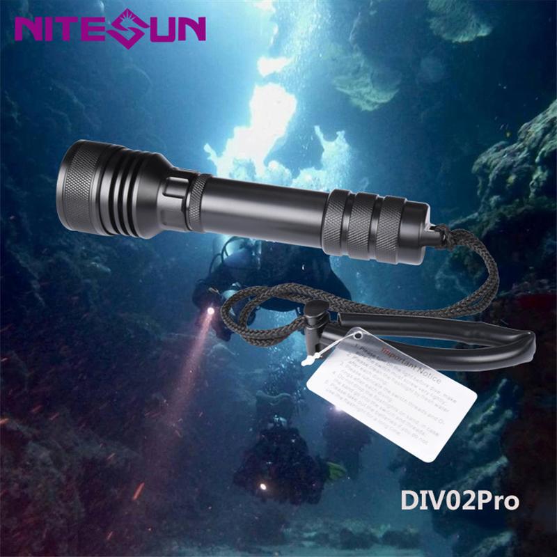 DIV02-pro-Immersione-Torcia-Riflettore-Riverbero-Torcia-Lega-di-Alluminio miniatura 5