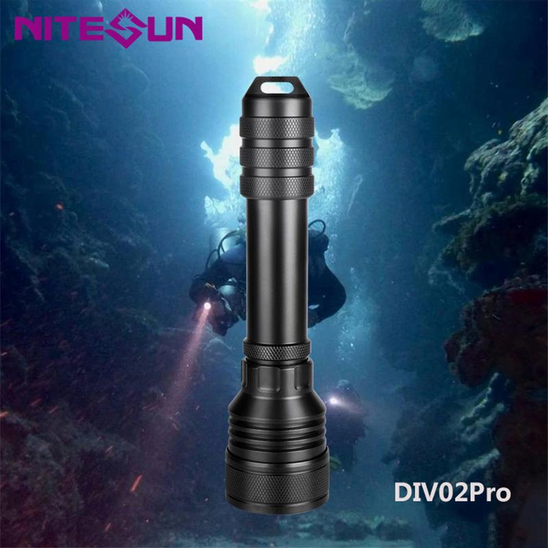 DIV02-pro-Immersione-Torcia-Riflettore-Riverbero-Torcia-Lega-di-Alluminio miniatura 3