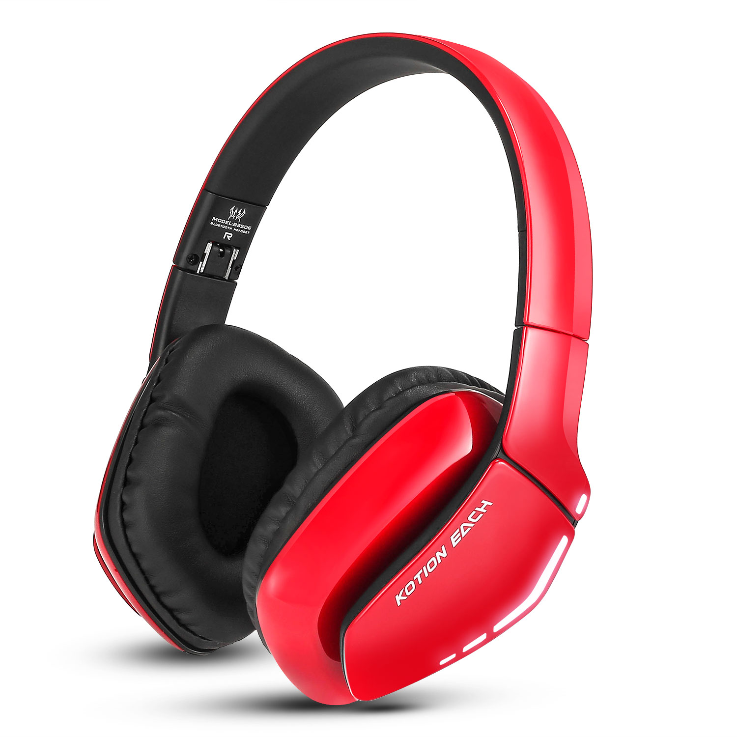 bluetooth headphone w mic stereo sound gaming kopfh rer. Black Bedroom Furniture Sets. Home Design Ideas