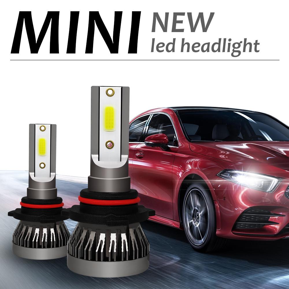 phare de 6000 K de 72 W de 10000 lumens pour le blanc frais H4 de voitures Les ampoules pour les phares de LED