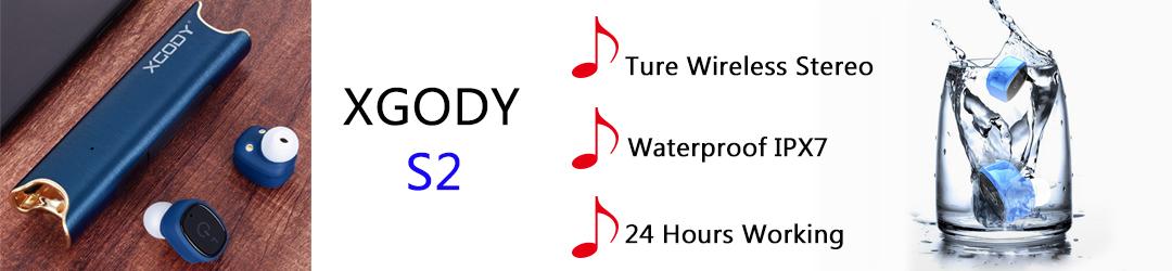 S2 Mini Wireless Bluetooth Earbuds Waterproof Twins Stereo