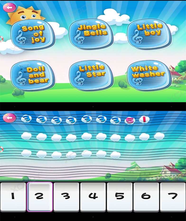 XGody T702 Quadcore Android Educational Wifi Kids Tablet
