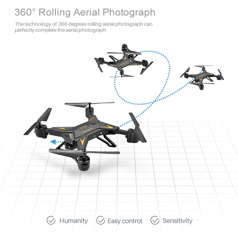 KY601S Drone 360 degrees aerial flip