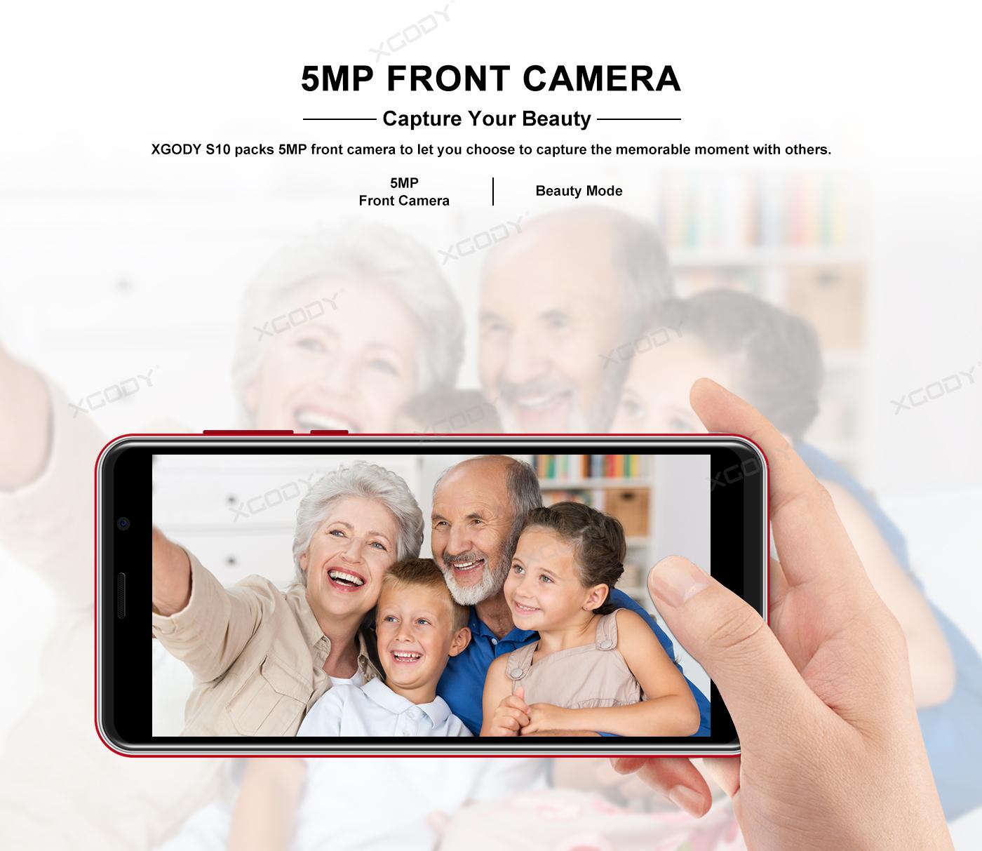 XGODY 5MP+5MP Cameras