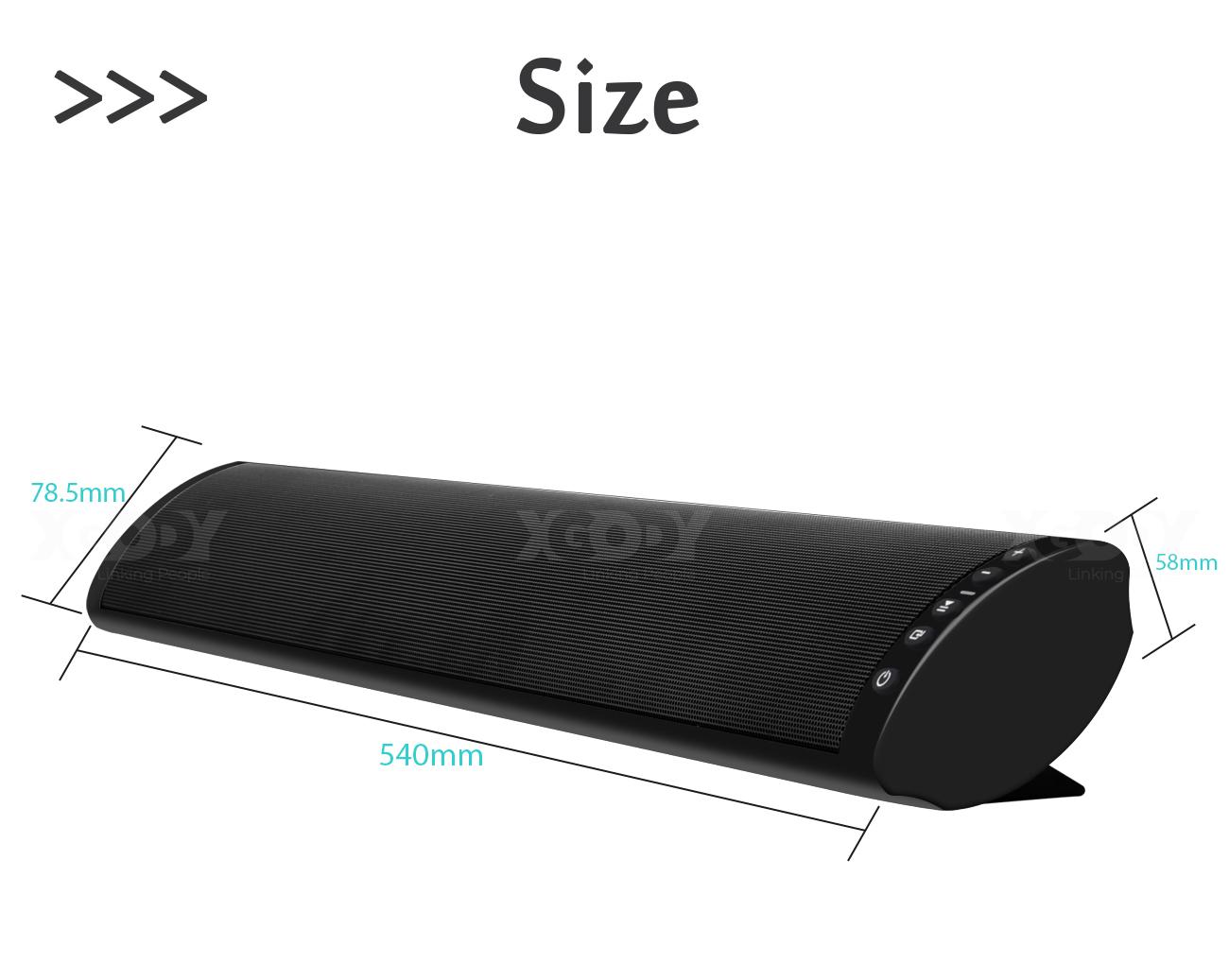 BS-41 Soundbar Bluetooth 5.0 Wireless with Subwoofer