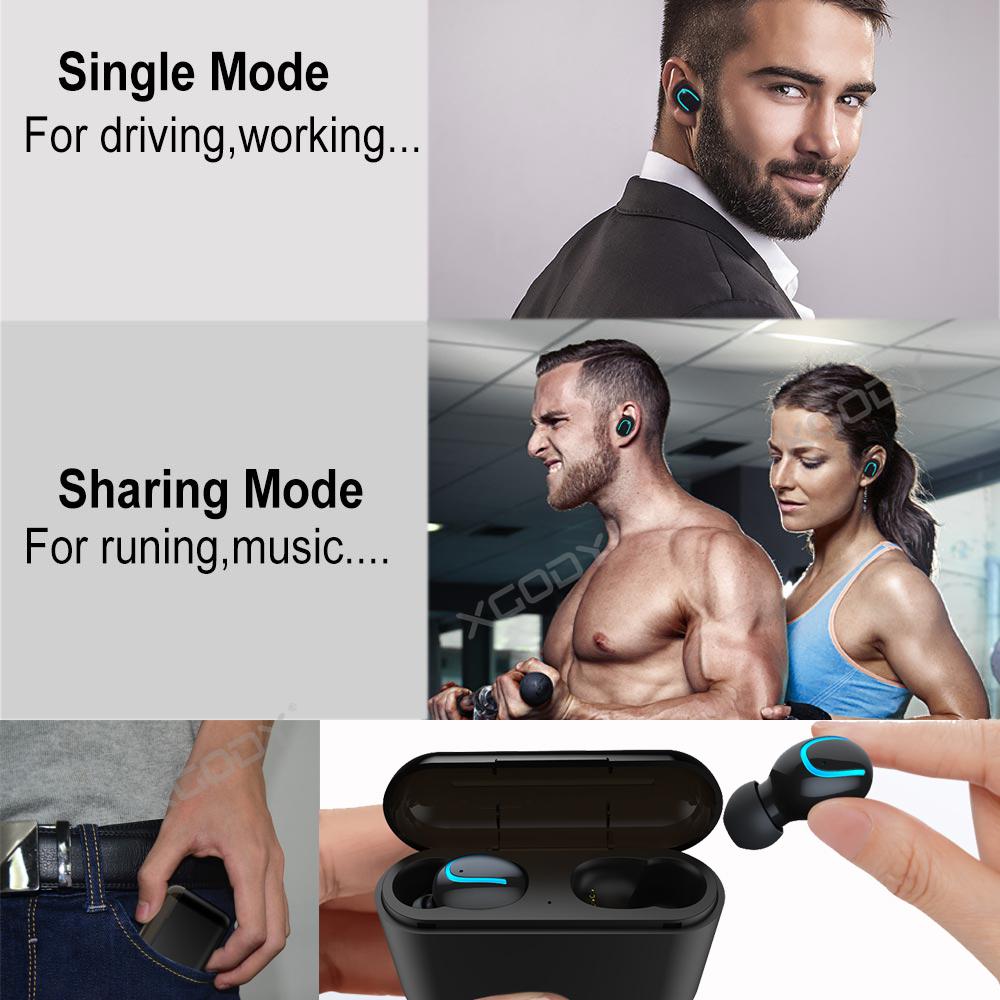 Wireless Earbud TWS Mini True Bluetooth 5.0 Stereo