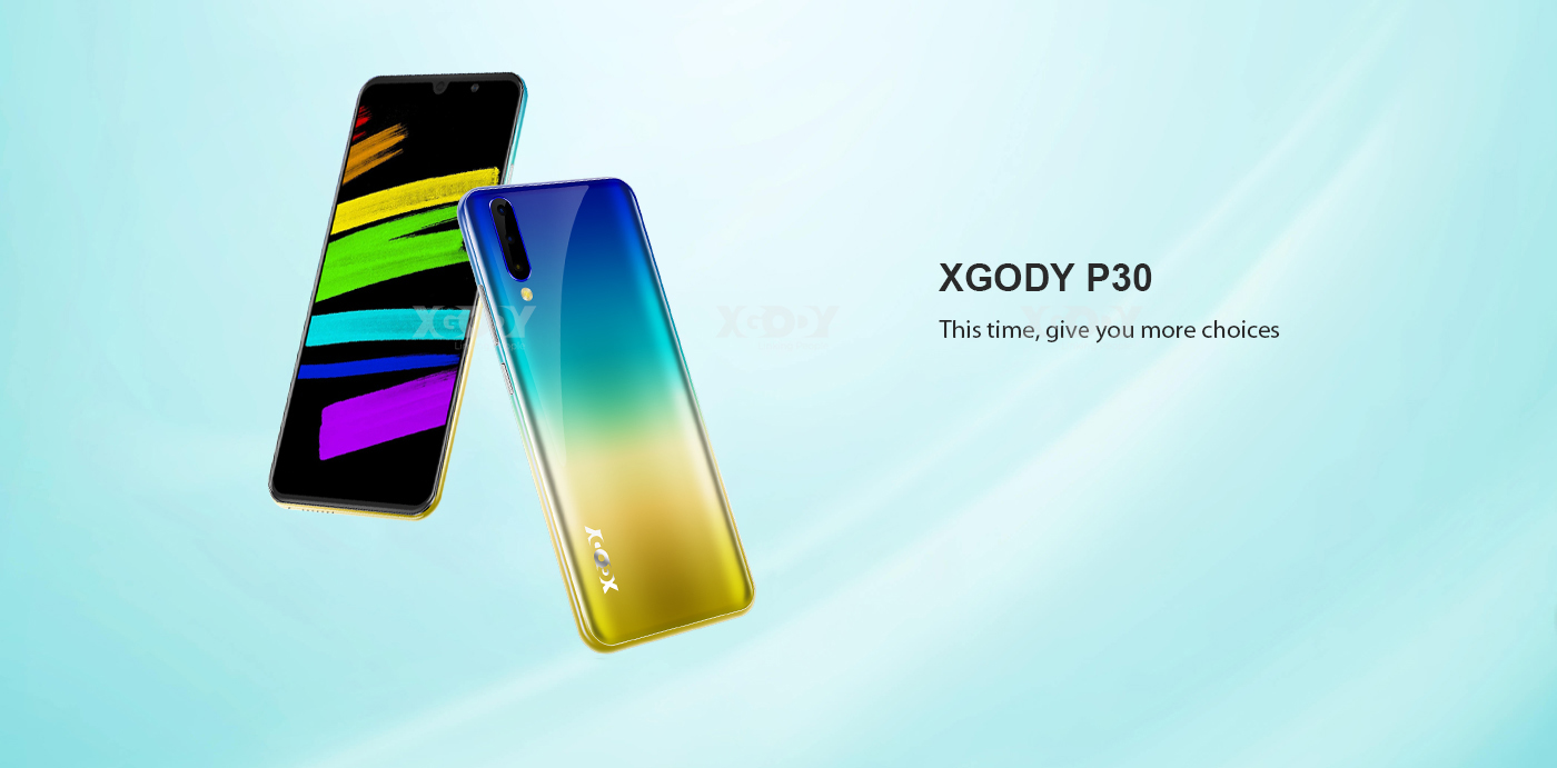 XGODY P30 6'' Android 9.0 Smartphone