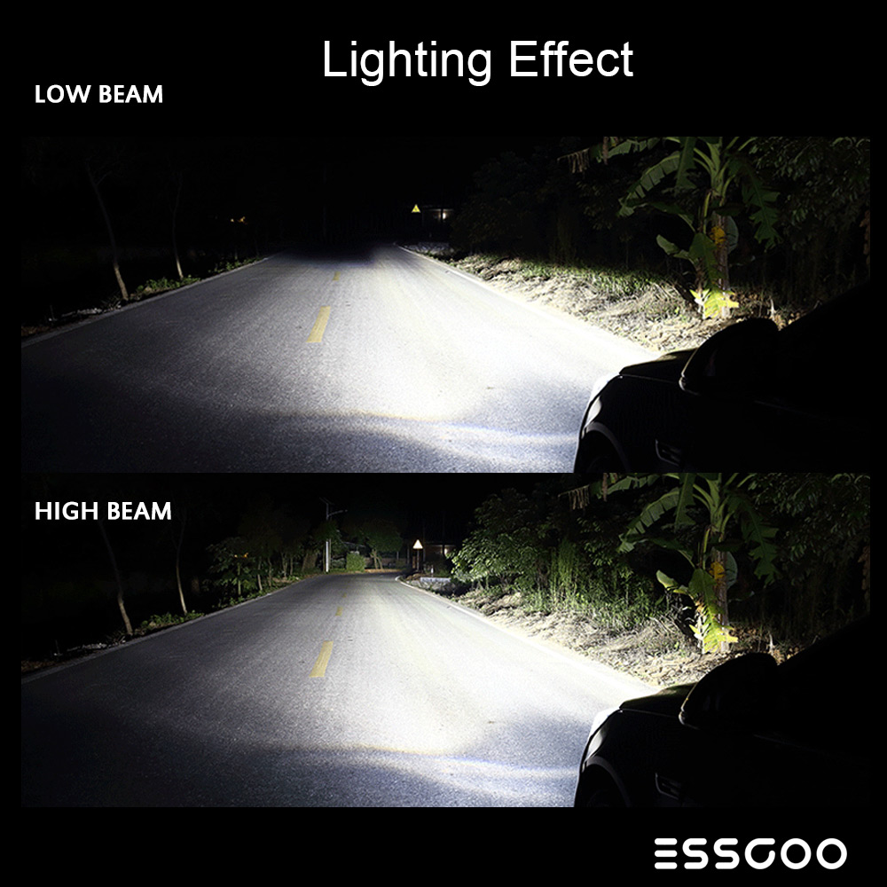Essgoo H7 Xenon Automotive Waterproof Lightning for Cars