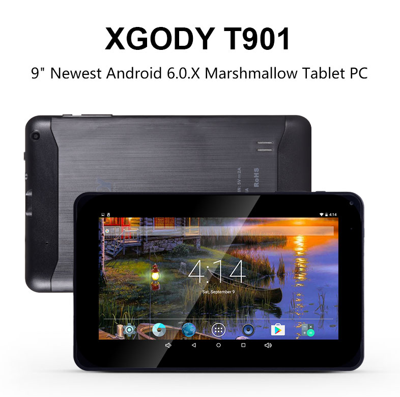 Details about XGODY 9'' Android 5 1 HD Touchscreen Tablet PC Quad Core  2xCamera 1+16GB WiFi A7