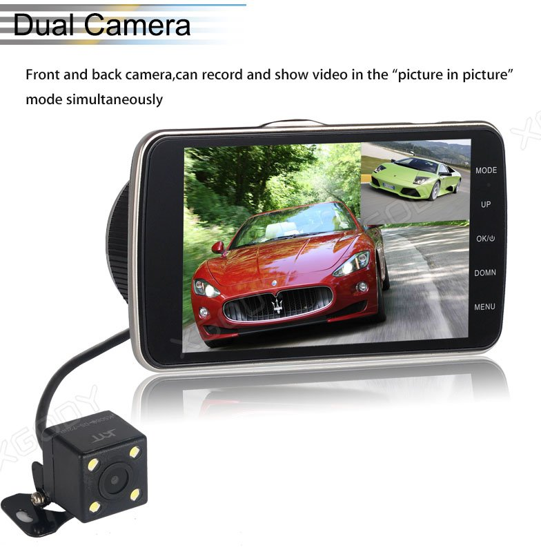 user manual in chinese mirror dash cam change language
