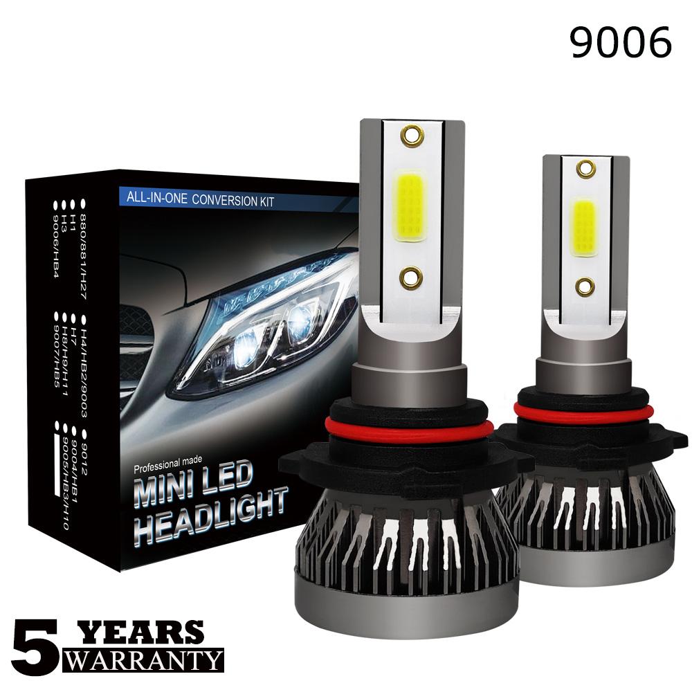 MINI H7 LED Headlight Bulbs Conversion Kit 3400W 475000LM 6000K Hi//Lo Beam Lamps