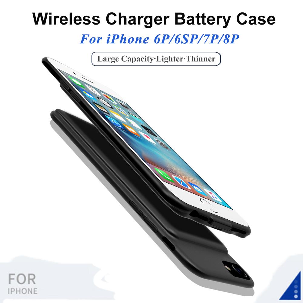 iPhone 6P/6SP/7P/8 Magnetic 7000mAh Power Bank Case
