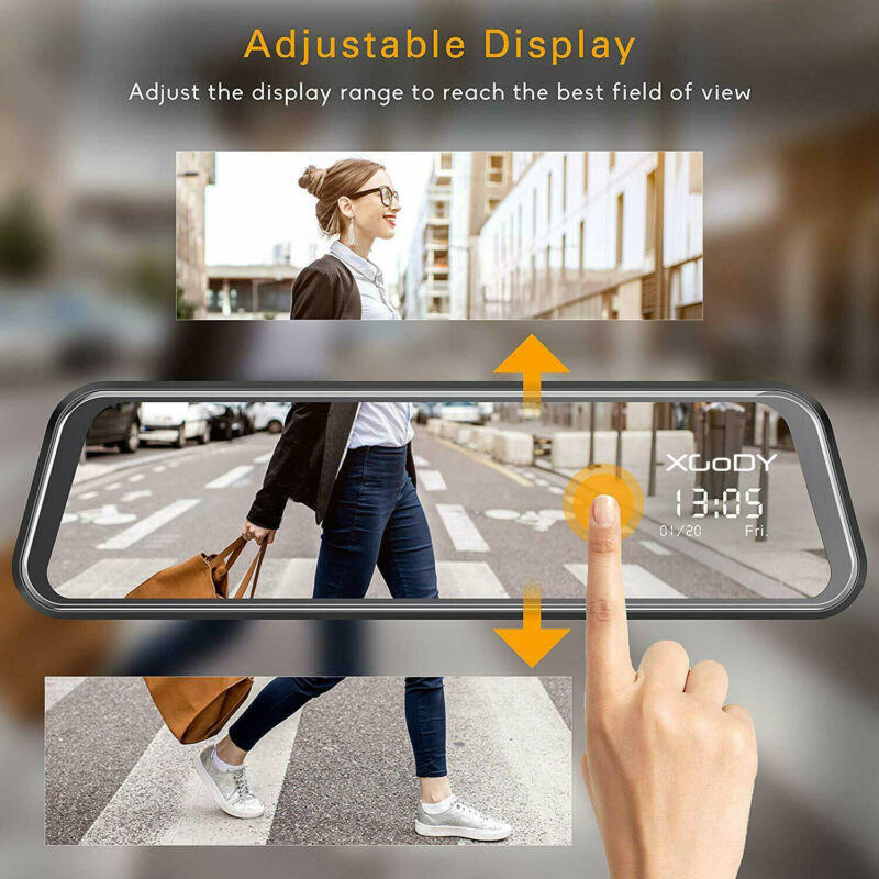 Xgody N97 Car DVR Dual Lens Video Recorder With G-sensor