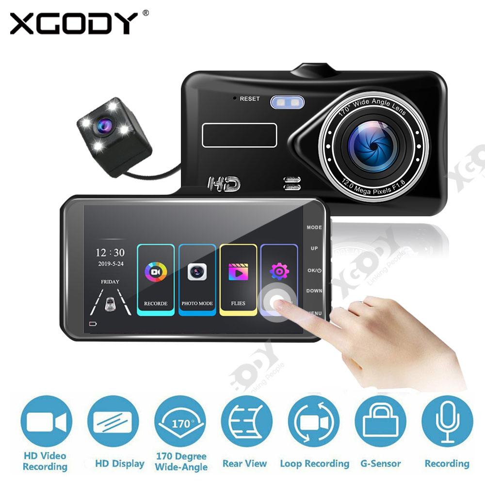 1080P HD 6m dual 2 lens spy motion detection Loop recording camera camcorder DVR