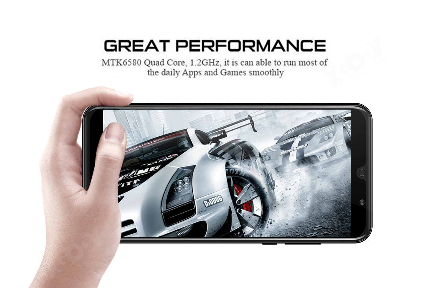 A70 Quad Core Dual SIM 3G 2G Smartphone RAM 1GB