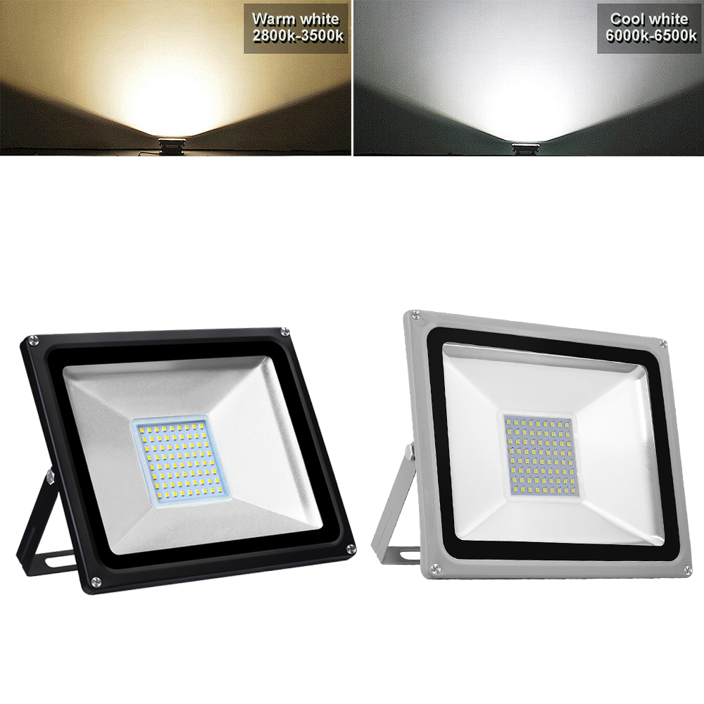 50W Waterproof LED Work Flood Light Floodlight Indoor Outdoor Studio Lamp Light