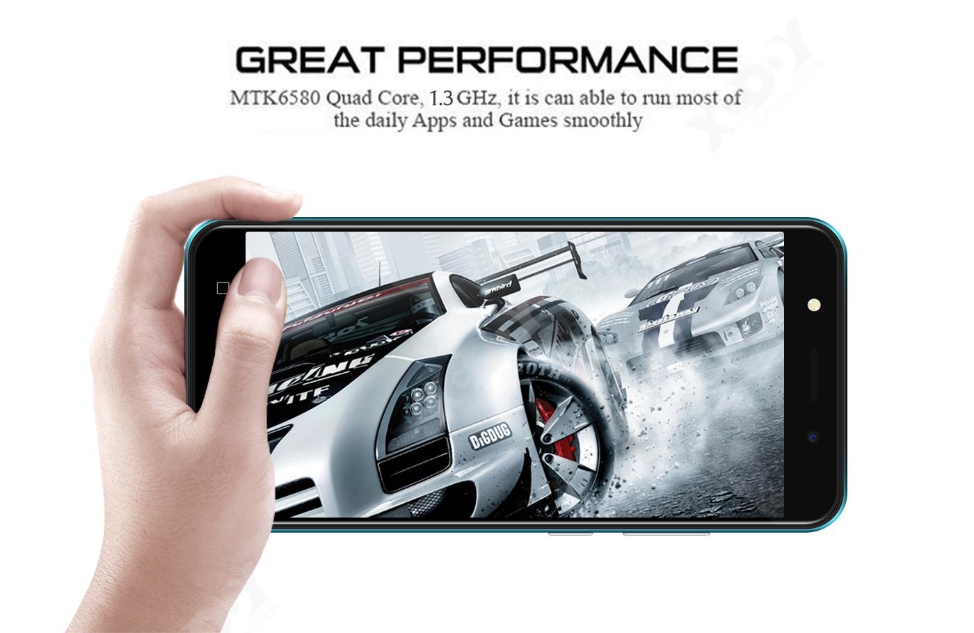 5″ Android 8.1 Unlocked Cheap Mobile Smart Phone Quad Core Dual SIM WiFi 3G GPS