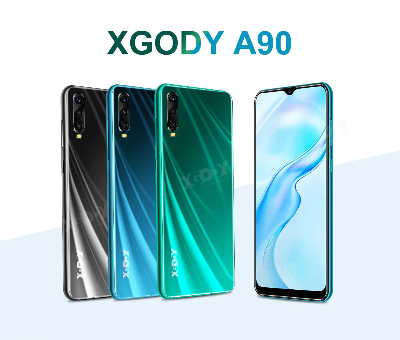"""2020 Cheap Unlocked 6.6"""" Android 9.0 Smartphone Phablet"""