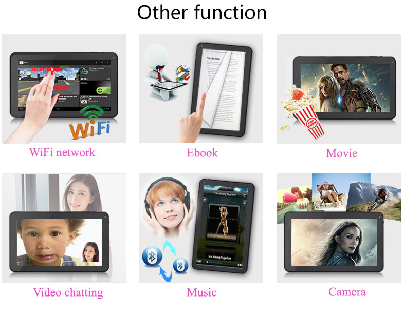 XGODY 9″ inch Android Quad-core 6.0 / 9.0 16GB Tablet PC Dual Cam Bluetooth WiFi