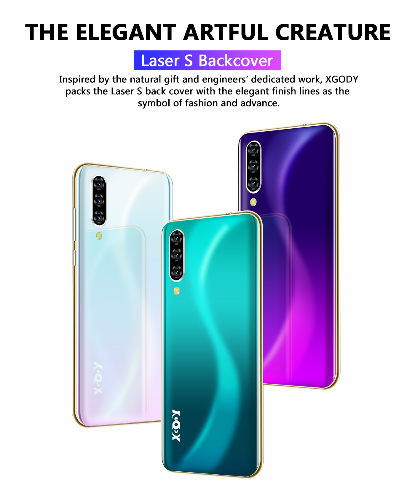 GSM 16GB New Unlocked Cell Phone Android 9.0 Smartphone Dual SIM Quad Core Cheap