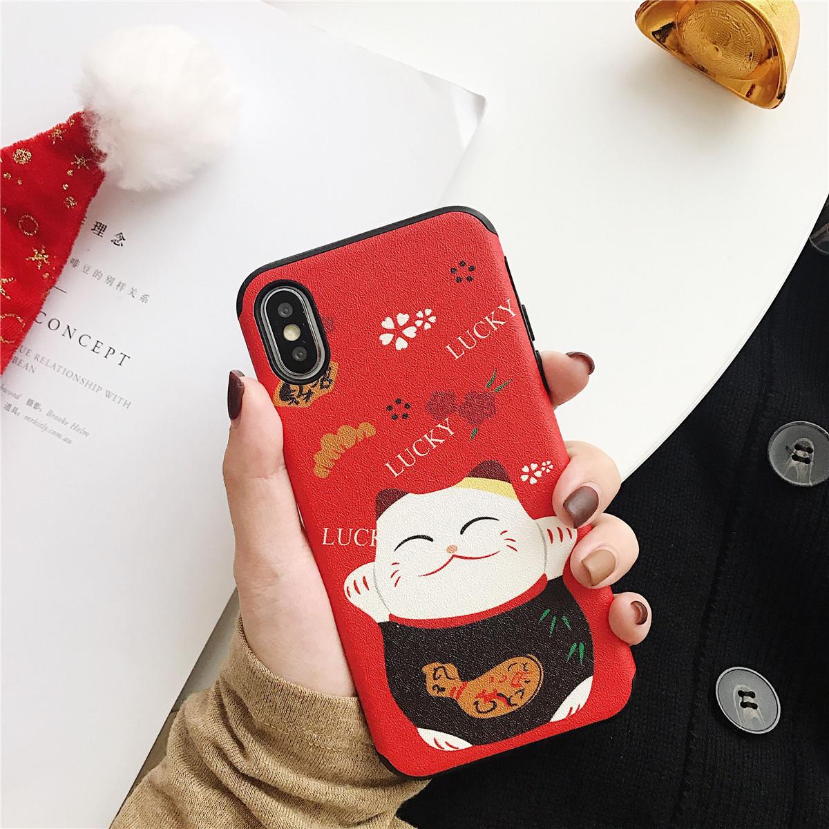 coque iphone 7 maneki neko
