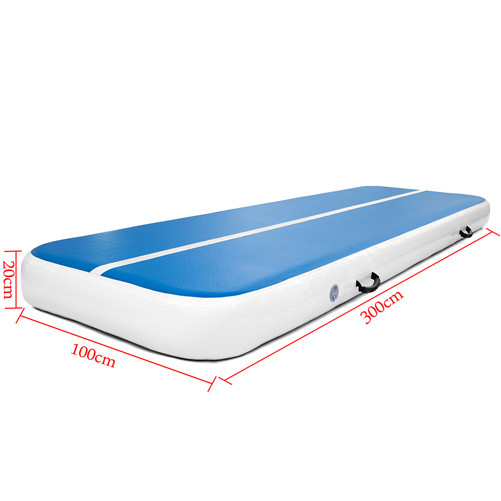 pompe Air Track Floor Gymnastique gonflable Balance Tumbling Home Gym Train mat