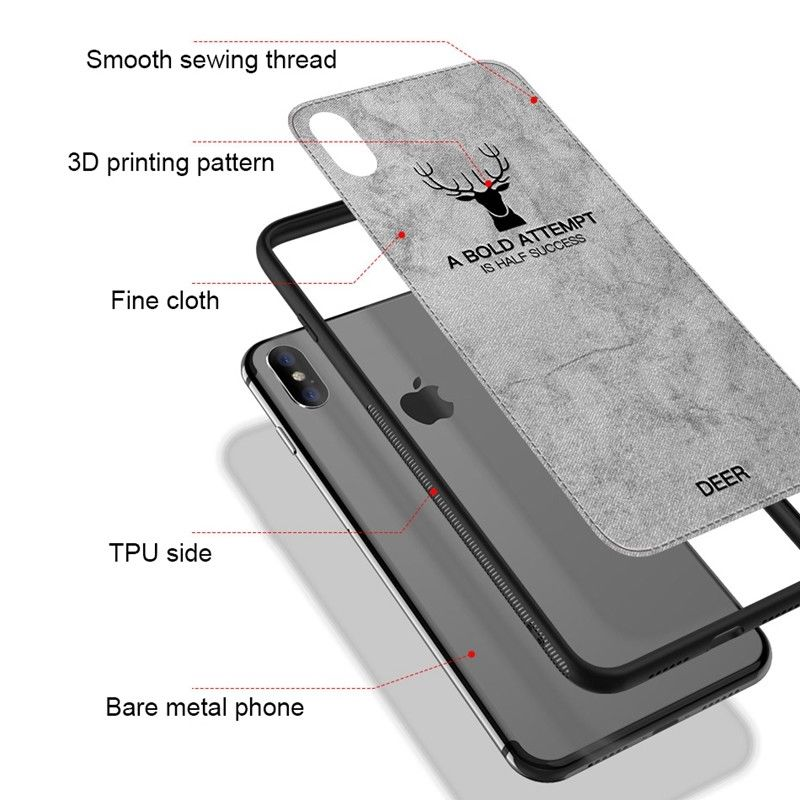 8d5efb96cc Unique design allows easy access to all buttons, controls & ports without  having to remove the case. Package Included: 1 x Cloth Texture Silicone Case  For ...