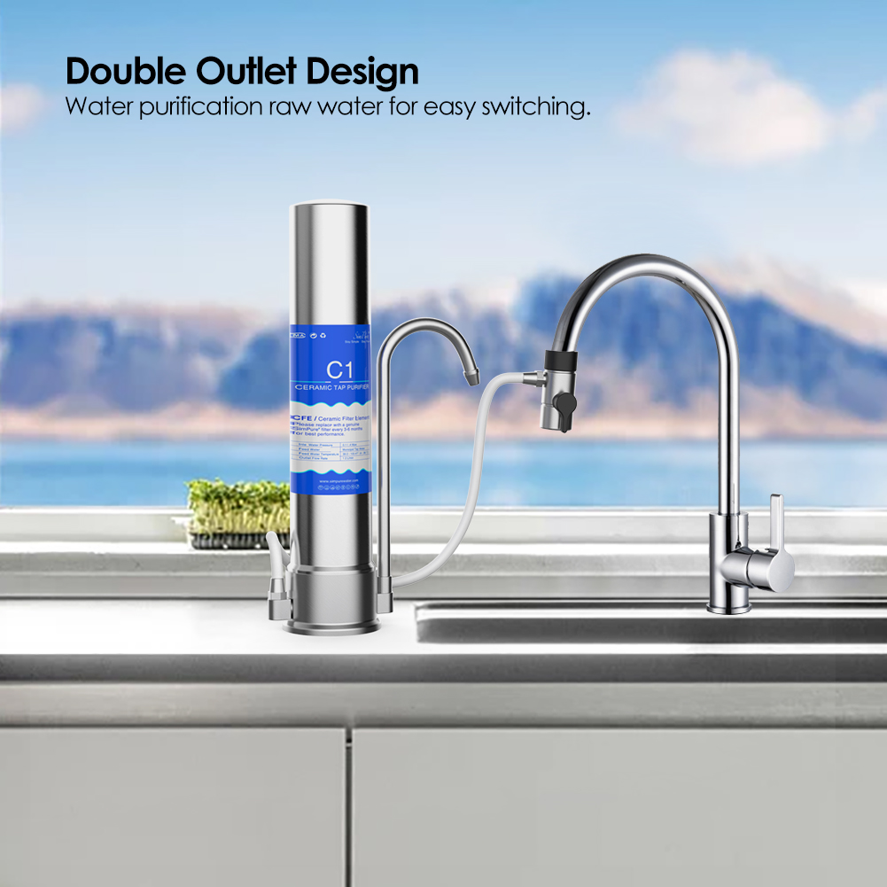 Kichen Countertop Single Drinking Water Filter System