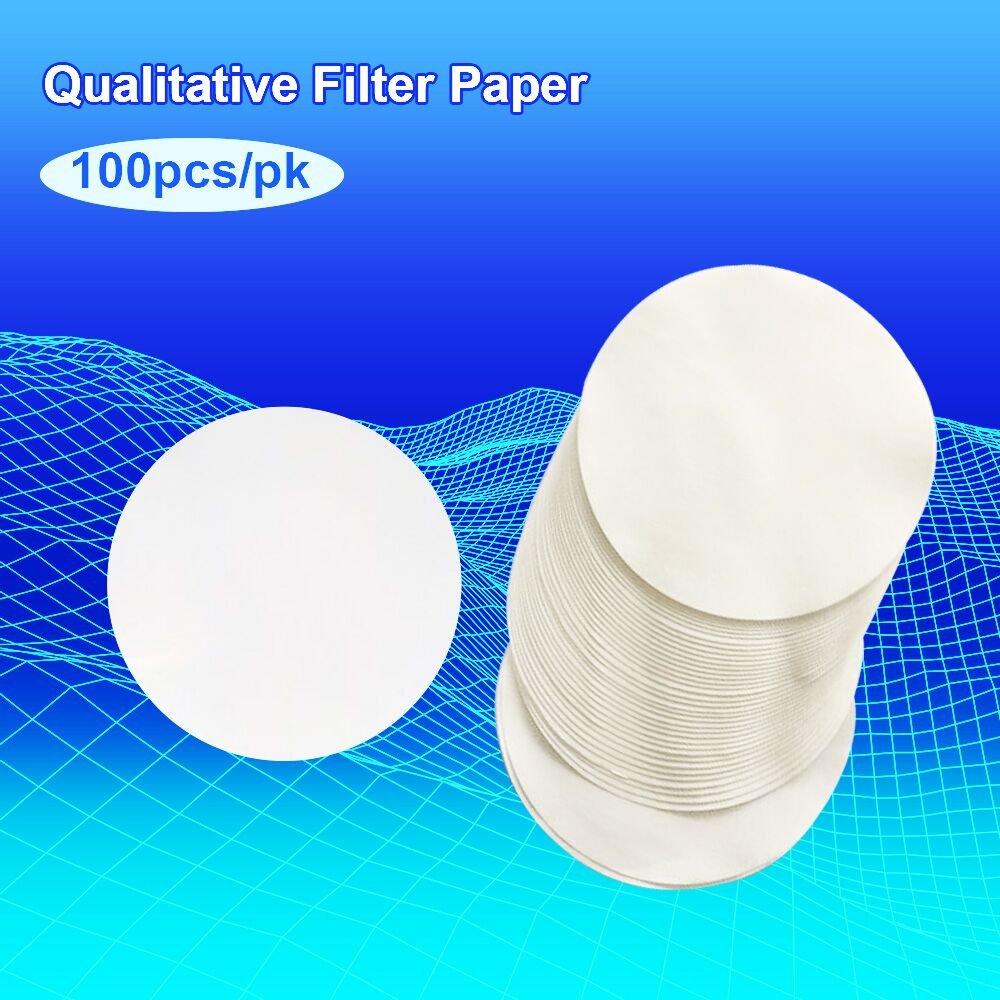Medium (8/μm) MS Lab Supply Qualitative Filter Paper Filter Paper 90mm Diameter Pack of 100